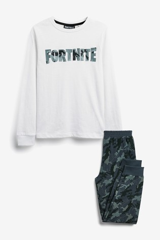 Grey Fortnite Pyjamas (10-16yrs)