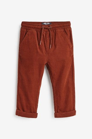 Ginger Pull-On Cord Trousers (3mths-7yrs)