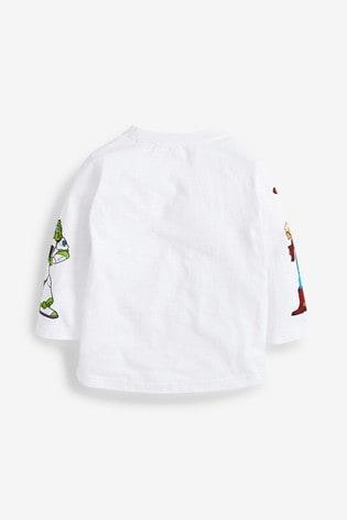 White Disney™ Toy Story Long Sleeve T-Shirt (3mths-8yrs)