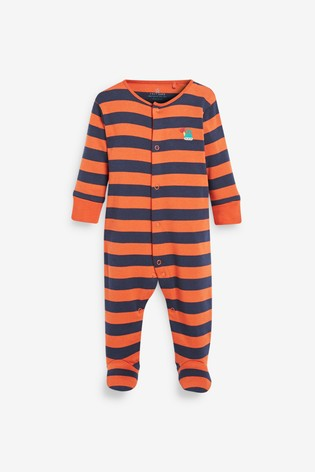 Bright 3 Pack Transport Sleepsuits (0-2yrs)
