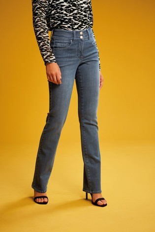 Smokey Blue Lift, Slim And Shape Boot Cut Jeans