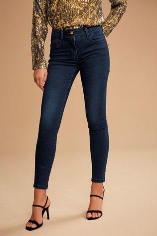 Inky Wash Lift, Slim And Shape Skinny Jeans