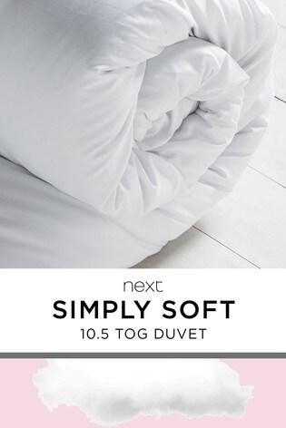 Simply Soft 10.5 Tog Duvet