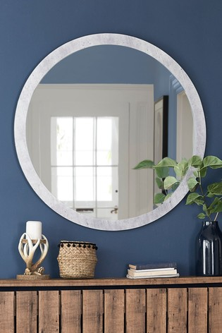 Concrete Effect Mirror
