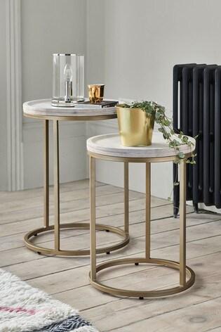 Amsterdam Light Nest of 2 Tables
