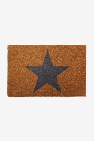 Grey Star Doormat