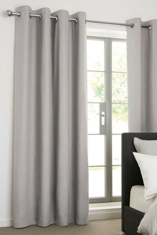 Cotton Eyelet Super Thermal Curtains