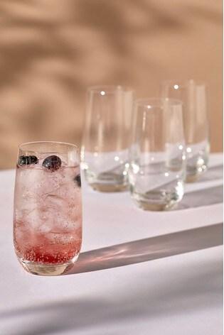 Nova Set of 4 Tumbler Glasses