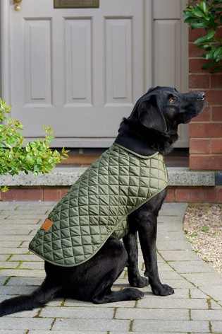 Reversible Quilted Dog Coat
