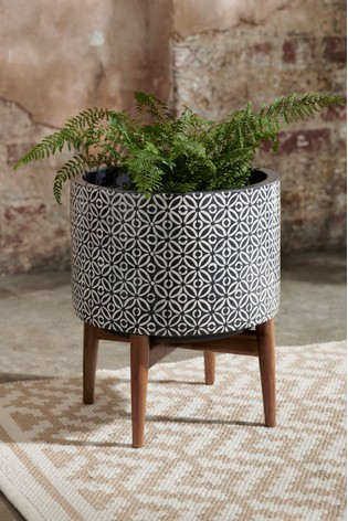 Buy Geometric Plant Stand From The Next Uk Online Shop