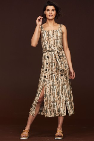 94fb67a518f3 Buy Animal Snake Pinny Dress from Next Slovakia