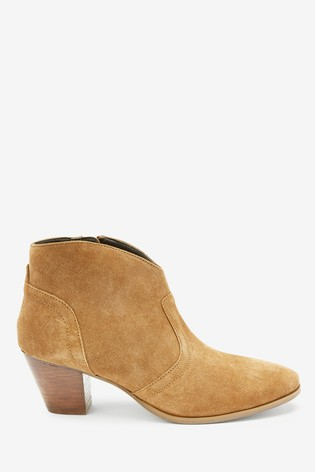 Forever Comfort® Western Style Ankle Boots by Next