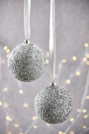 Set Of 2 Xl Baubles by Next