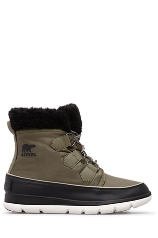 Sorel® Hiker Green Explorer Carnival Snow Boots