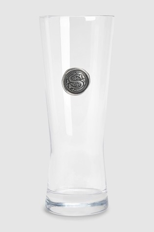 English Pewter Company 57cl Personalised Beer Glass