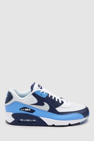 nike air max 90 essential blue Weiß