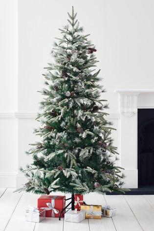 check out 42a6a 726d9 Luxe Frosted Fir 6ft Lit Christmas Tree