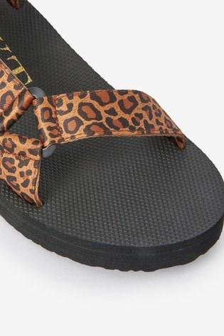 Animal Print EVA Sporty Sandals