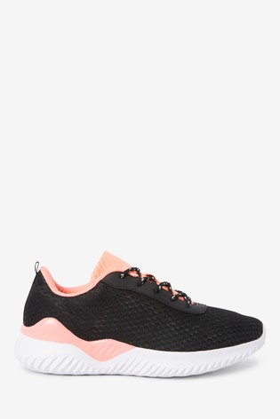 Black Active Sports Trainers