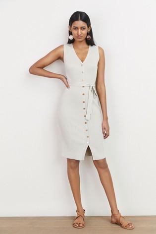 Neutral Dress,Button Dress,Button Dress,button dress,