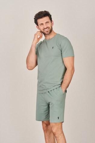 Mint Shorts Lightweight Loungewear