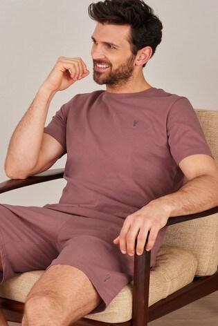 Pink Shorts Lightweight Loungewear