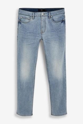 Light Blue Slim Fit Motion Flex Stretch Jeans