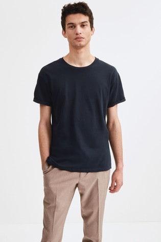 Navy Regular Fit Crew Neck T-Shirt