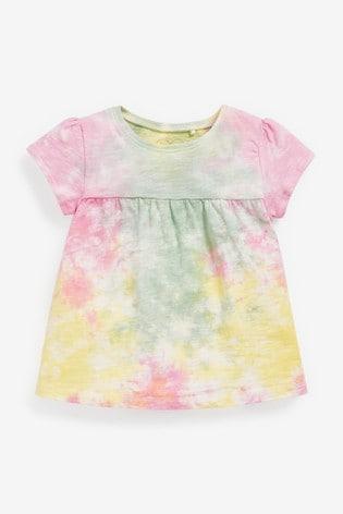 Tie Dye Cotton T-Shirt (3mths-7yrs)