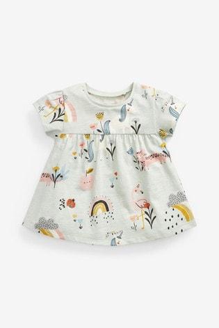 Mint Unicorn Character Cotton T-Shirt (3mths-7yrs)