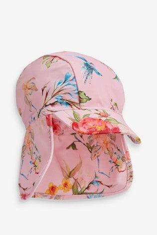 Pink Swim Legionnaires Hat (3mths-10yrs)