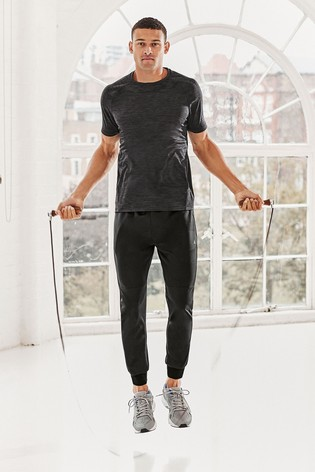Charcoal Grey Inject Training Short Sleeve Tee Next Active Sports T-Shirt