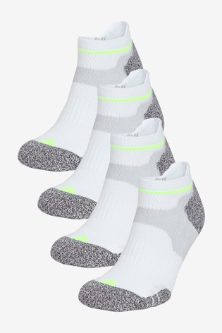 White 4 Pack Next Active Cushioned Socks