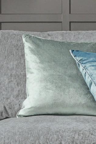 Grey/Green Nigella Cushion