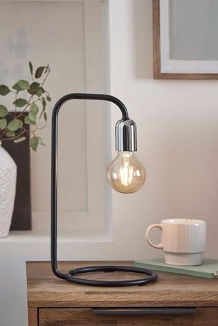 Black Lex Table Lamp