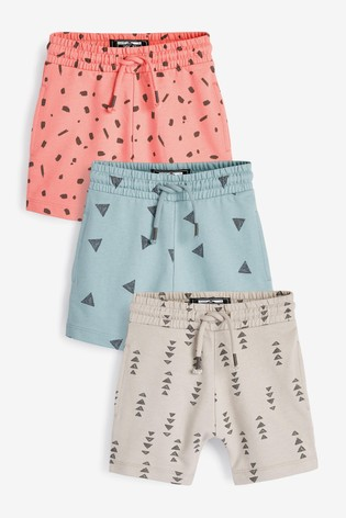 Mineral Mark Making 3 Pack Jersey Shorts (3mths-7yrs)