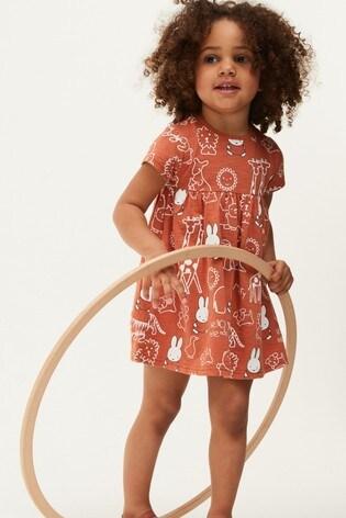 Rust Jersey Dress (3mths-7yrs)