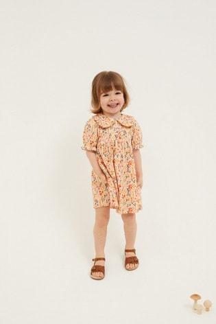 Orange Tea Dress (3mths-7yrs)