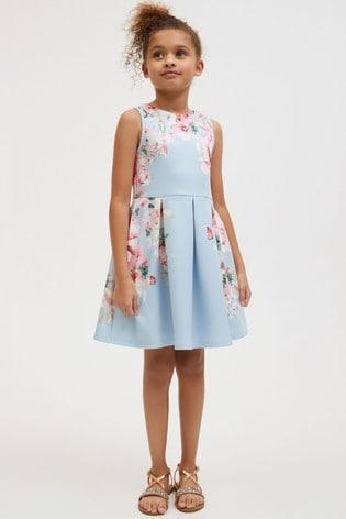 Blue Occasion Dress (3-16yrs)