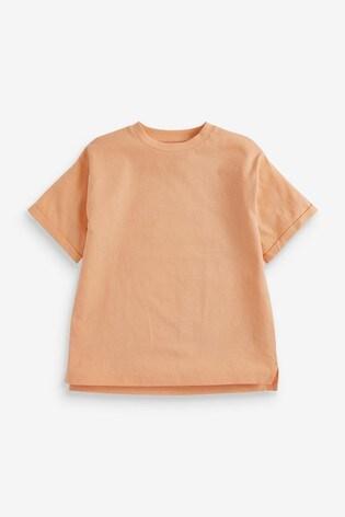 Orange Oversize T-Shirt (3-16yrs)