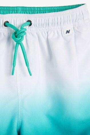Blue Dip Dye Swim Shorts (3mths-16yrs)