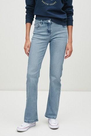 Bleach Boot Cut Jeans