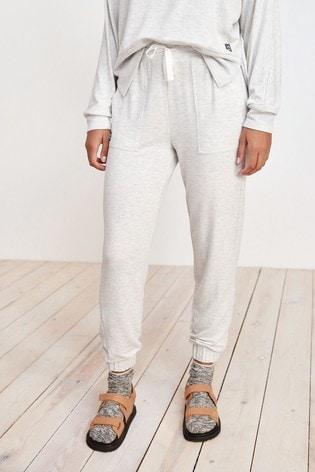 Grey Soft Viscose Joggers