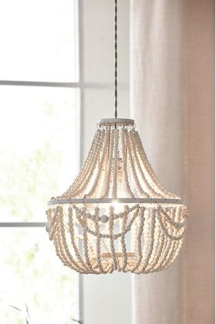 Natural Tahlia Easy Fit Pendant Lamp Shade