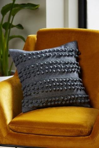 Pom Pom Stripe Cushion