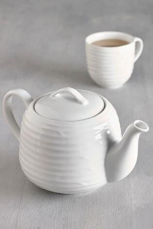 Malvern Embossed Tea Pot