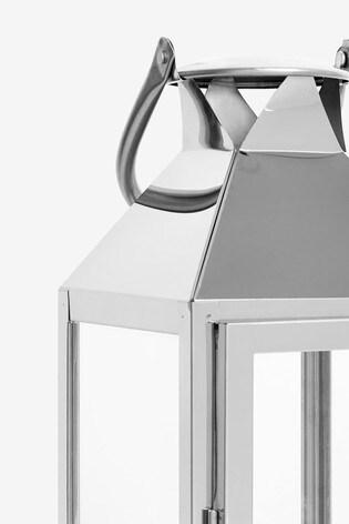 Medium Chrome Lantern