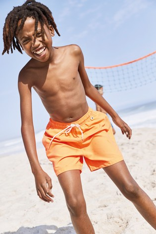 Fluro Orange Swim Shorts (1.5-16yrs)