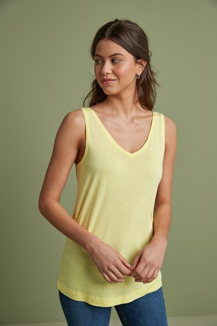 Yellow Slouch Vest