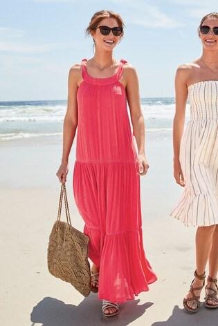 Berry Lurex® Maxi Dress